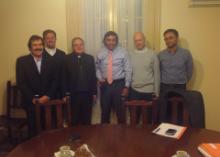 Visita del Ministro de Desarrollo Social de la Pcia. de Buenos Aires, Eduardo Aparicio al Obispo de San Isidro